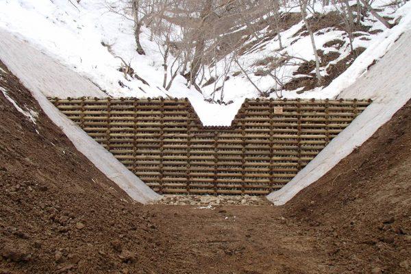 カジヤの沢(1144林班)治山工事