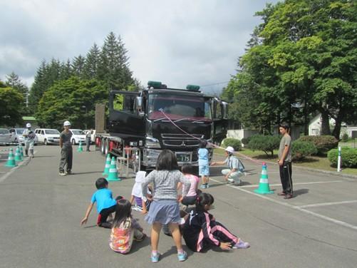 富秋排水路13号工区工事 施工時ボランティア活動