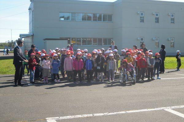 畑地帯(育成)清水松沢地区61工区 施工に係る地域貢献ボランティア活動