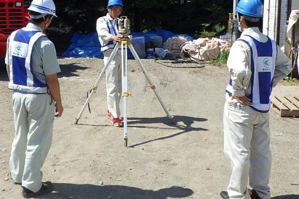 帯広工業高等学校の環境土木科就業体験(インターンシップ)を実施しました