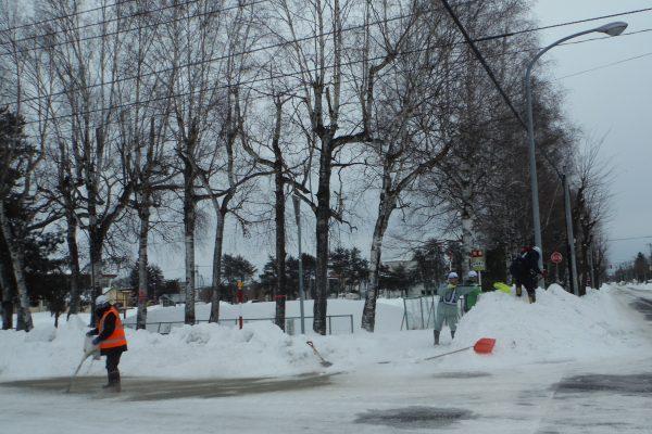 令和元年度 除雪ボランティア活動
