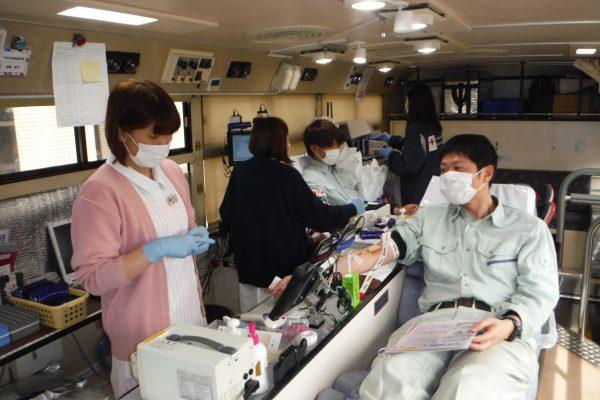 献血を実施しました